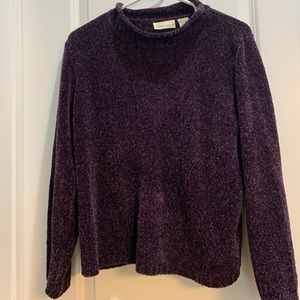 Deep Lavender Pullover Sweater - Croft & Barrow